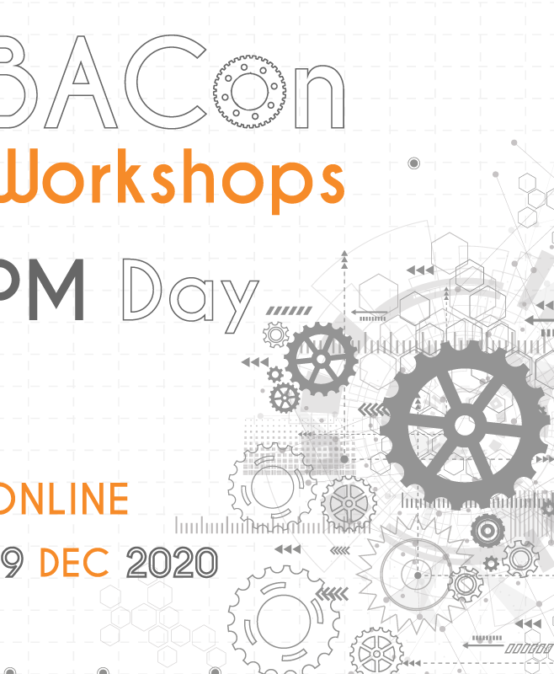 BACon Workshops: PM Day Online